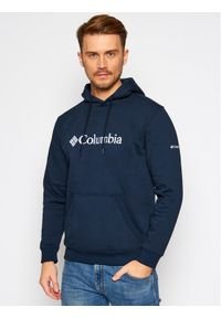 columbia - Columbia Bluza Csc Basic Logo™ II 1681664 Granatowy Regular Fit. Kolor: niebieski