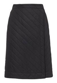 Czarne spodnie sportowe Cellbes z nadrukiem