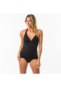 OLAIAN - Góra kostiumu kąpielowego INES damska. Kolor: czarny. Materiał: poliester, poliamid, materiał, elastan