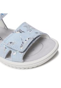 Superfit - Sandały SUPERFIT - 1-609004-8400 S Hellblau/Silber. Kolor: niebieski. Materiał: skóra, zamsz