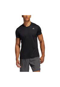Adidas - Koszulka męska do biegania adidas Run It Tee FL6972. Materiał: skóra, poliester, materiał. Długość rękawa: krótki rękaw. Długość: krótkie. Sport: bieganie
