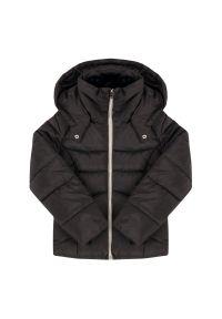Czarna kurtka zimowa Mayoral