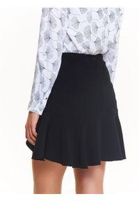 Czarna spódnica TOP SECRET na jesień, elegancka