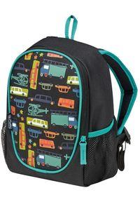 Herlitz plecak dla przedszkolaków Rookie Transport. Kolor: czarny. Wzór: paski