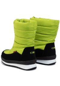 Zielone śniegowce CMP z cholewką