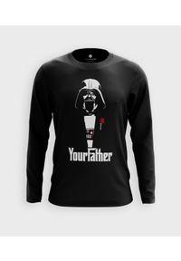 MegaKoszulki - Koszulka męska z dł. rękawem Your father. Materiał: bawełna