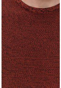 Only & Sons - Sweter. Okazja: na co dzień. Kolor: czerwony. Materiał: bawełna. Długość rękawa: długi rękaw. Długość: długie. Styl: casual
