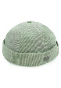 Zielona czapka Pako Jeans na lato