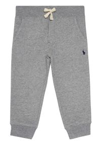 Polo Ralph Lauren Spodnie dresowe Bsr 323720897004 Szary Regular Fit. Kolor: szary. Materiał: dresówka