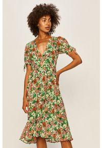 Pepe Jeans - Sukienka Aurele. Typ sukienki: rozkloszowane
