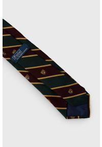 Polo Ralph Lauren - Krawat. Kolor: zielony. Materiał: materiał