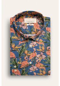 Niebieska koszula Tailored & Originals klasyczna, długa