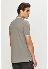 Szara koszulka polo G-Star RAW polo, krótka, na co dzień, casualowa