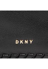 Czarna torebka worek DKNY