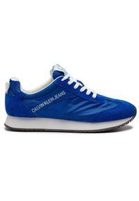 Niebieskie sneakersy Calvin Klein Jeans