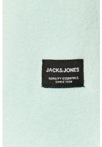 Jack & Jones - Bluza. Okazja: na co dzień. Kolor: niebieski. Styl: casual