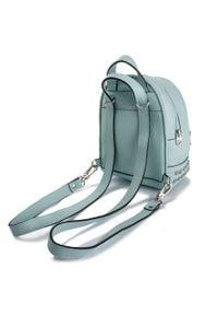 Eva Minge - Plecak EVA MINGE - EM-17-05-000149 150. Kolor: niebieski. Materiał: skóra. Styl: klasyczny