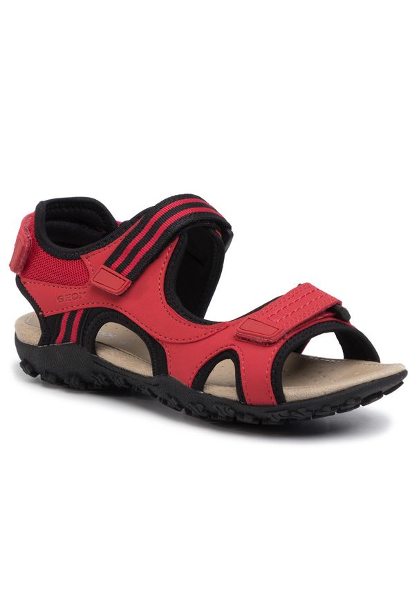 Czerwone sandały Geox