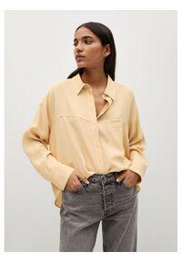 Żółta koszula mango