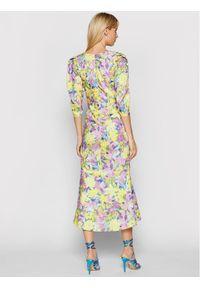 For Love & Lemons Sukienka letnia Cassia CD2357 Kolorowy Slim Fit. Wzór: kolorowy. Sezon: lato