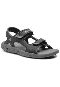 Czarne sandały columbia na lato