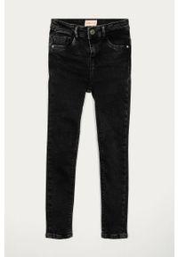 Czarne jeansy Kids Only z podwyższonym stanem