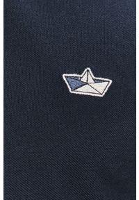 Niebieska koszulka polo Selected casualowa, na co dzień