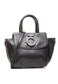 Czarna torebka klasyczna Nobo z aplikacjami, zdobiona