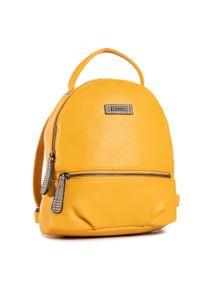 Żółty plecak Rieker sportowy
