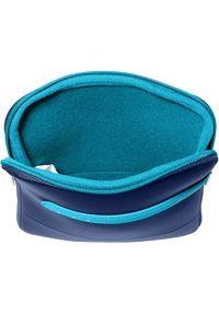 Niebieskie etui na laptopa Samsonite w kolorowe wzory #4