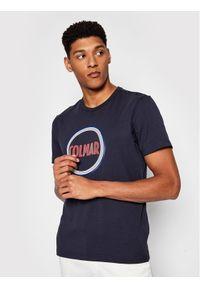 Colmar T-Shirt Frida 7590 6SH Granatowy Regular Fit. Kolor: niebieski