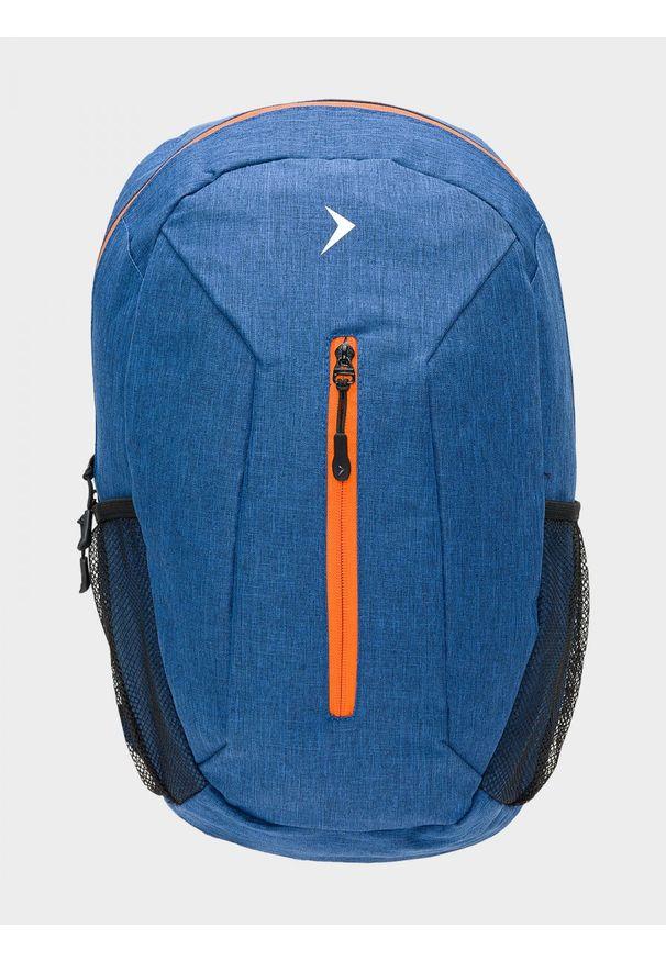 Niebieski plecak outhorn melanż, sportowy