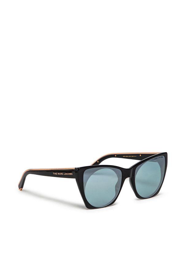 Okulary przeciwsłoneczne MARC JACOBS - 450/G/S Black 807. Kolor: czarny