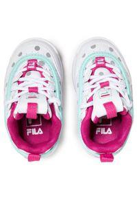 Fila Sneakersy Disruptor F 1011077.80Q Biały. Kolor: biały