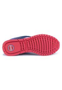 Colmar - Sneakersy COLMAR - Travis Runner 032 Navy. Okazja: na spacer, na co dzień. Kolor: niebieski. Materiał: skóra ekologiczna, skóra, materiał, zamsz. Szerokość cholewki: normalna. Styl: sportowy, casual