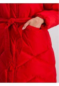 Czerwony płaszcz zimowy Marella Sport sportowy