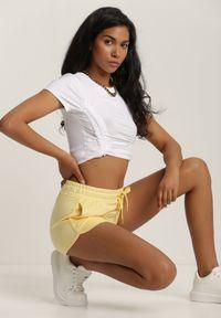 Żółte szorty Renee