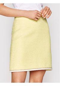 Żółta spódnica mini Luisa Spagnoli