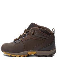 Brązowe buty zimowe columbia