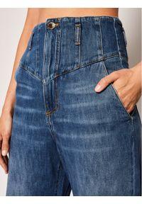 Niebieskie jeansy slim Pinko #5