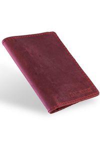 Czerwony portfel BRODRENE