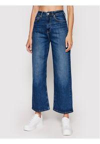 Pepe Jeans Jeansy Lexa Sky High PL203899 Granatowy Wide Fit. Kolor: niebieski