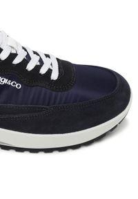 Igi & Co - Sneakersy IGI&CO - 7122022 Tela/Blu. Kolor: niebieski. Materiał: materiał, zamsz, skóra. Szerokość cholewki: normalna