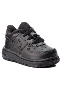 Nike Buty Force 1 (TD) 314194 Czarny. Kolor: czarny