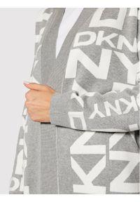 Szary kardigan DKNY