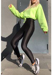 Czarne legginsy IVET na co dzień, casualowe