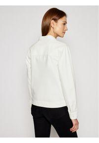 Vans Kurtka jeansowa Clark VN0A5AR6 Biały Regular Fit. Kolor: biały. Materiał: jeans