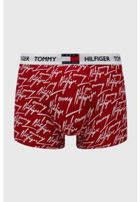 TOMMY HILFIGER - Tommy Hilfiger - Bokserki. Kolor: czerwony. Materiał: bawełna
