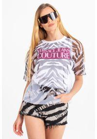 T-SHIRT Versace Jeans Couture. Okazja: na co dzień. Materiał: materiał. Styl: casual