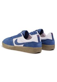 Niebieskie półbuty Nike z cholewką, na co dzień, casualowe